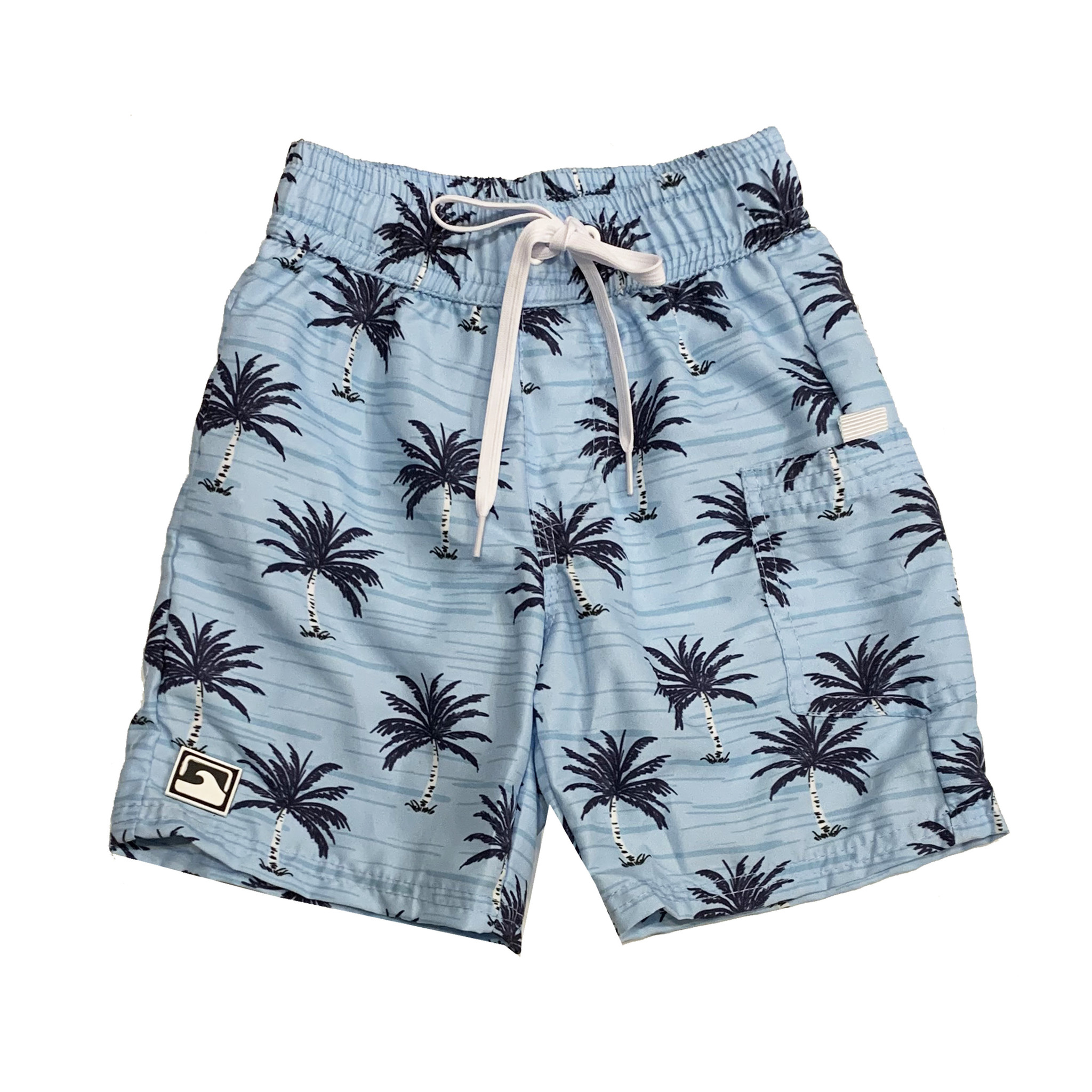 Coral Reef Ocean Palm Swimshorts