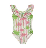 Coral Reef Miami Palm Toddler 1pc Swimsuit