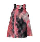Dori Creations Black & Pink Mesh Coverup