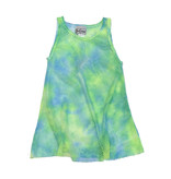 Dori Creations Neon Green & Blue Mesh Coverup