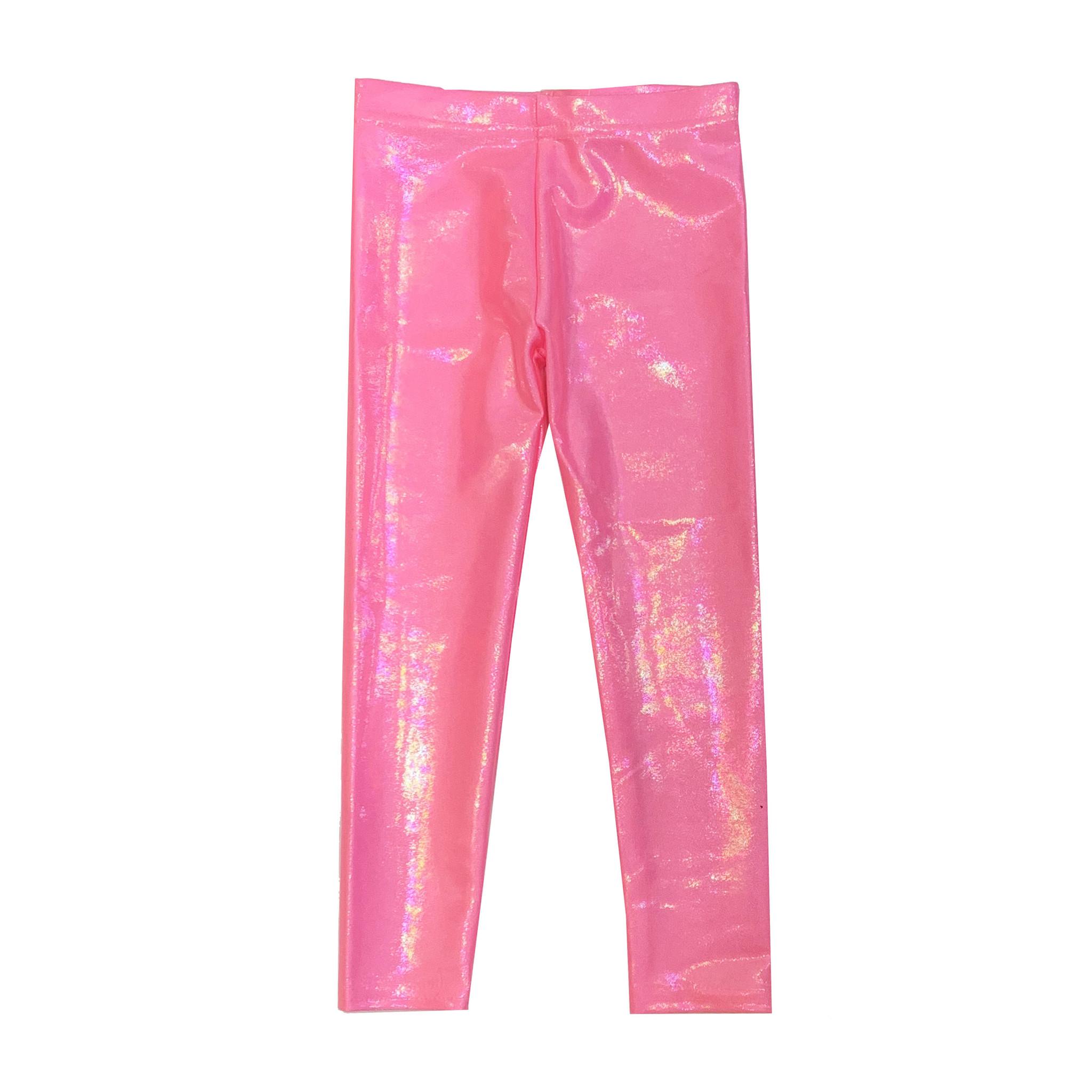 Dori Creations Shiny Bubblegum Legging