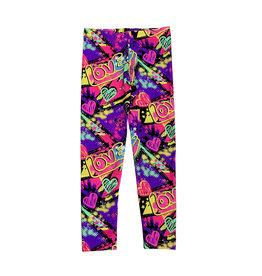 Dori Creations Purple Love Legging
