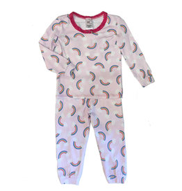 Esme Infant  Rainbow Shimmer PJ Set