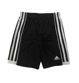 Adidas Black Side Stripe Athletic Short