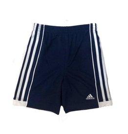Adidas Navy Side Stripe Athletic Short