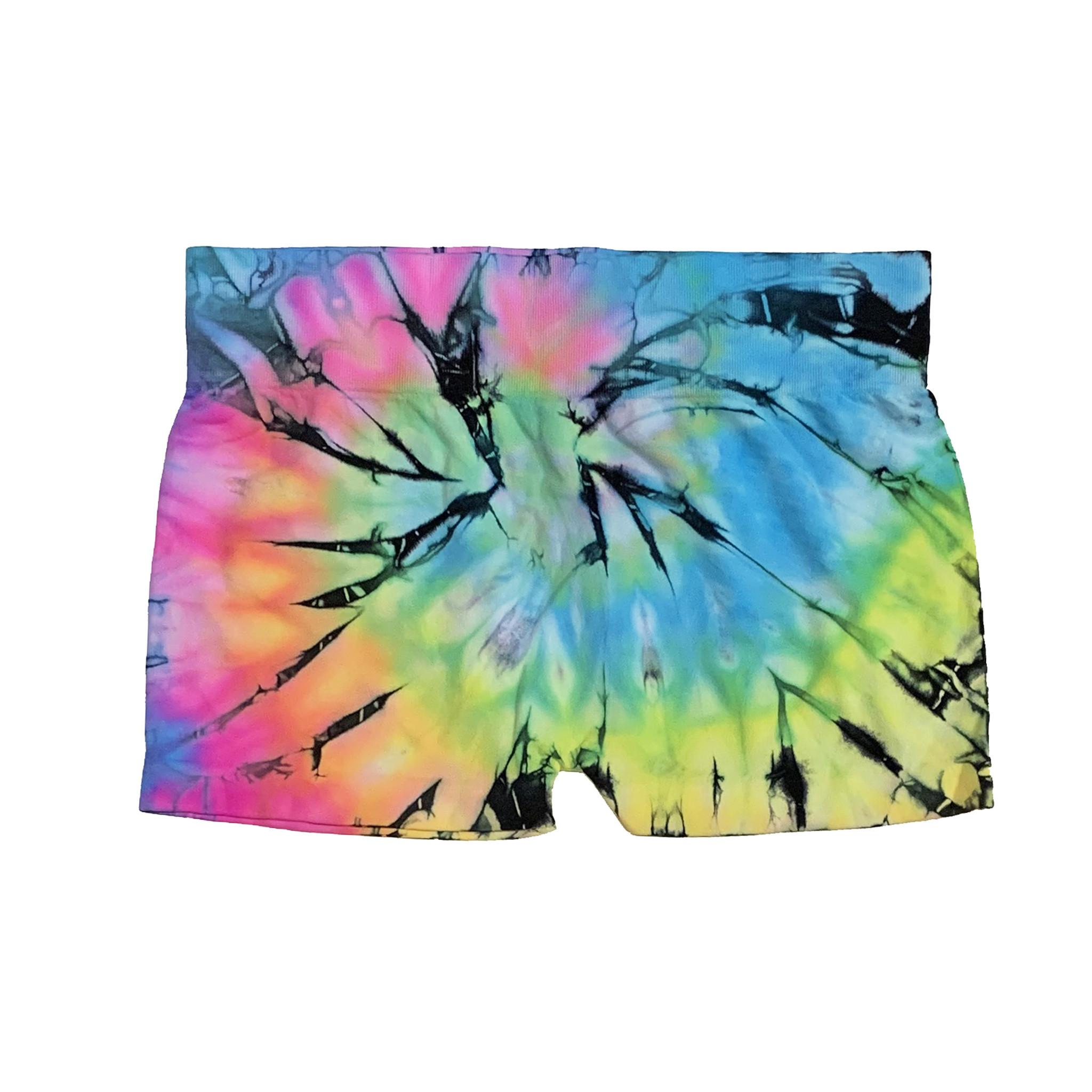 Malibu Sugar Tie Dye Booty Short 7-14