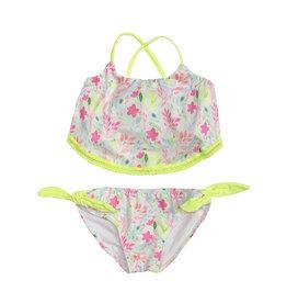 Planet Sea Neon Floral Bikini