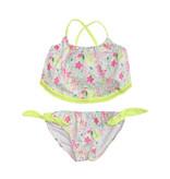 Planet Sea Infant Neon Floral Bikini