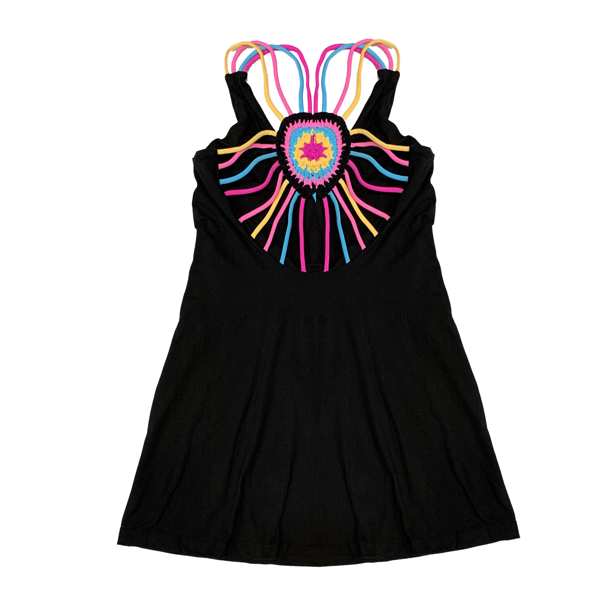 Little Peixoto Macrame Heart Coverup