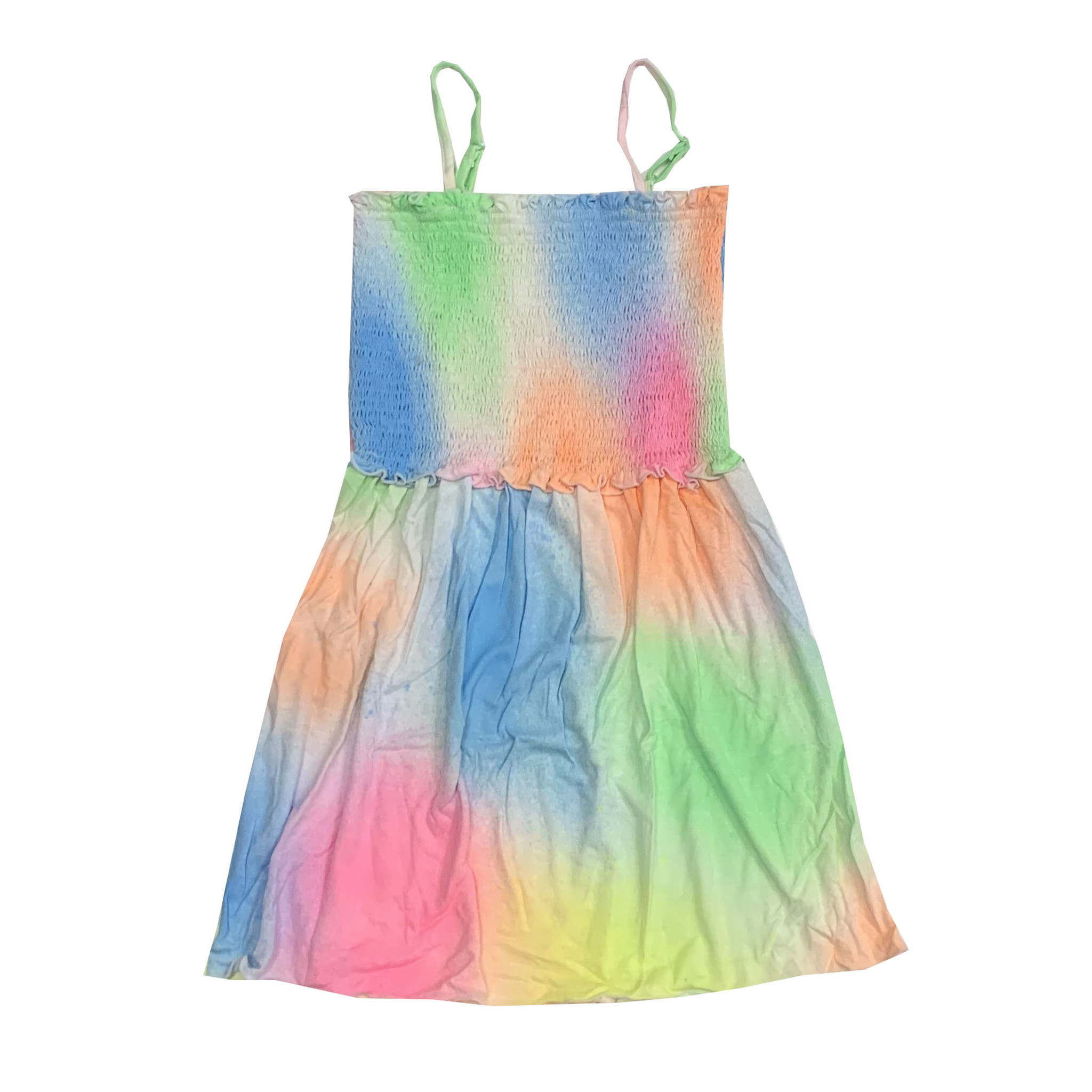 Flowers by Zoe Pastel Spray Ruched Dress
