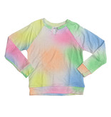 Flowers by Zoe Pastel Spray Notch Sweatshirt