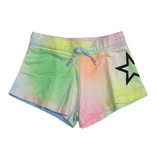 Flowers by Zoe Pastel Spray Sweat Short with Star