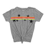 Flowers by Zoe Grey Neon Taping Knot Tee with Stars