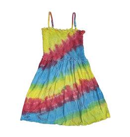 Flowers by Zoe Ruched Tie Dye Dress