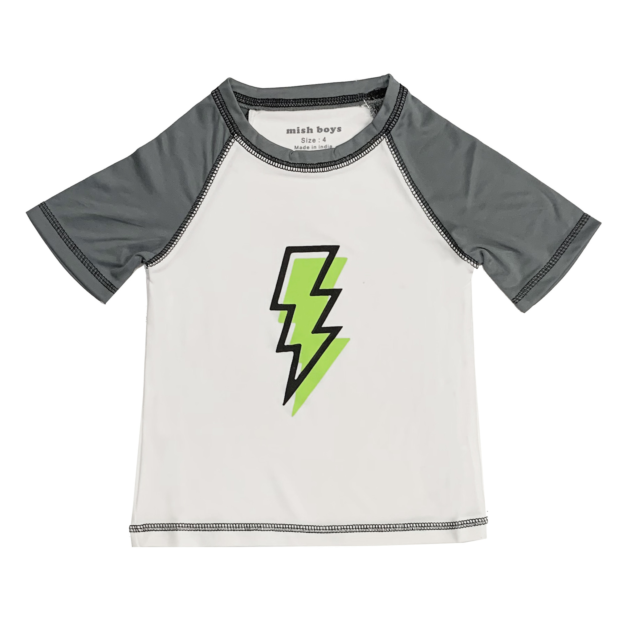 Mish Lightning Bolt Rashguard