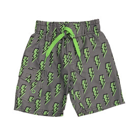 Mish Green Lightning Bolts Swimsuit