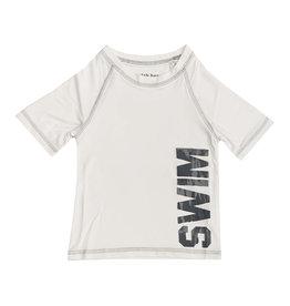 Mish White & Grey Swim Rashguard