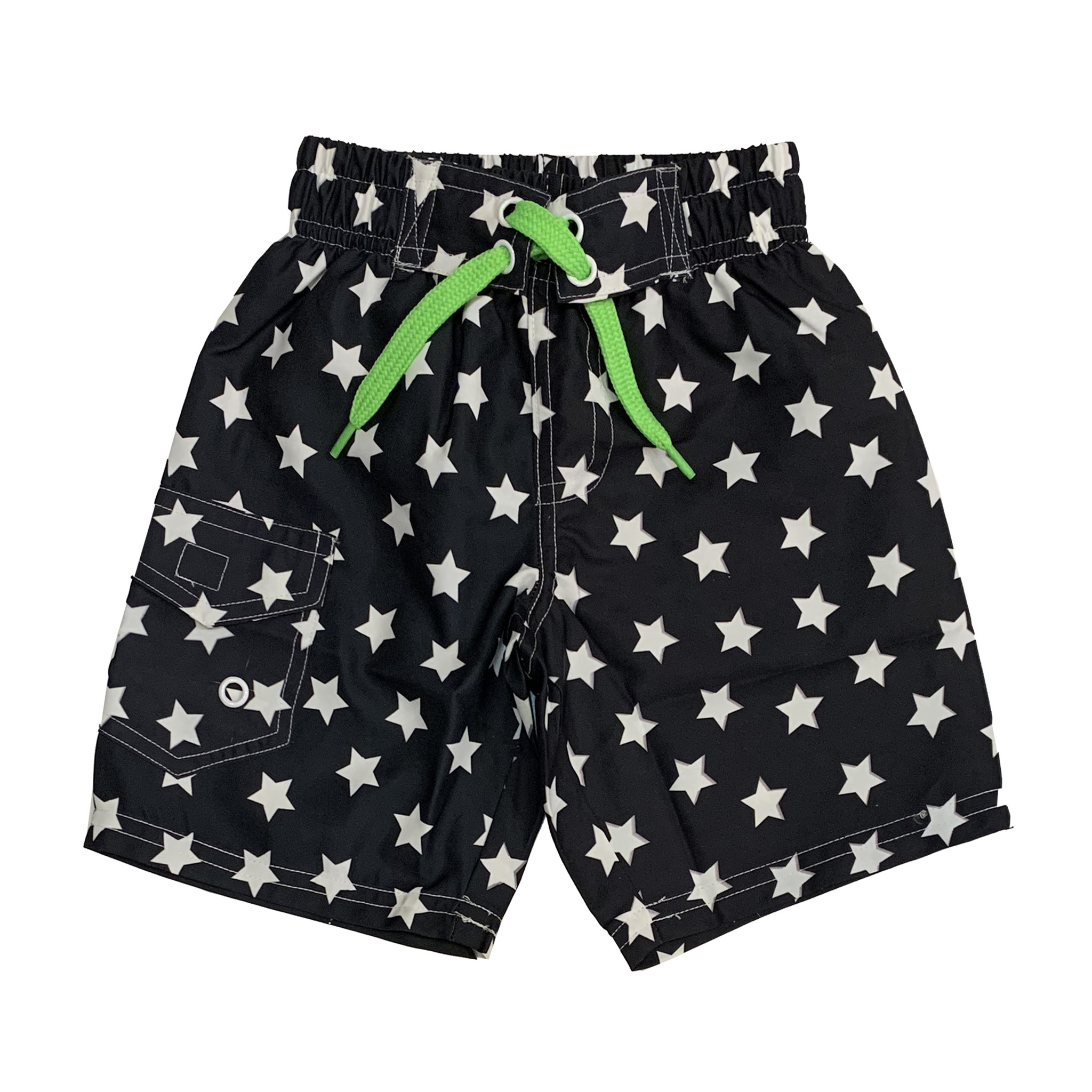 Mish Infant Black & White Stars Swimsuit