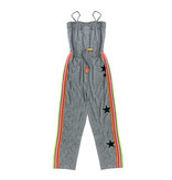 Flowers by Zoe Grey Neon Taping Jumpsuit with Stars