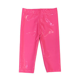 Dori Creations Shiny Neon Pink Capri