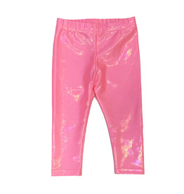 Dori Creations Infant Shiny Bubblegum Legging