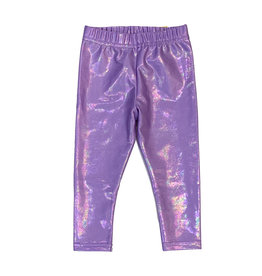 Dori Creations Infant Shiny Violet Legging