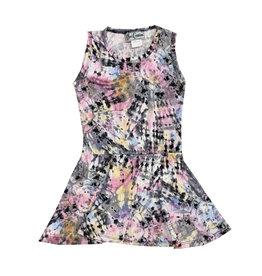 Dori Creations Pastel Splatter Dye Tank Dress