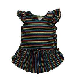 Little Mass Rainbow Stripe Tunic Top