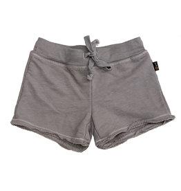 T2Love Grey Raw Sweat Short