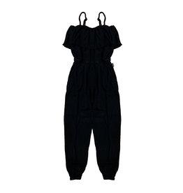 T2Love Black Ruffle Jumpsuit