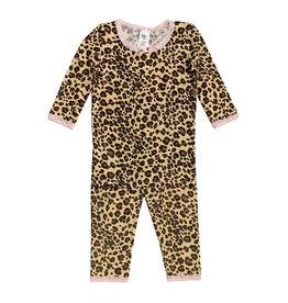 Esme Shimmer Leopard Pajama Set