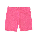 Dori Creations Neon Pink/White Heathered Bike Short