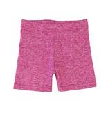Dori Creations Pink/White Heathered Bike Shorts