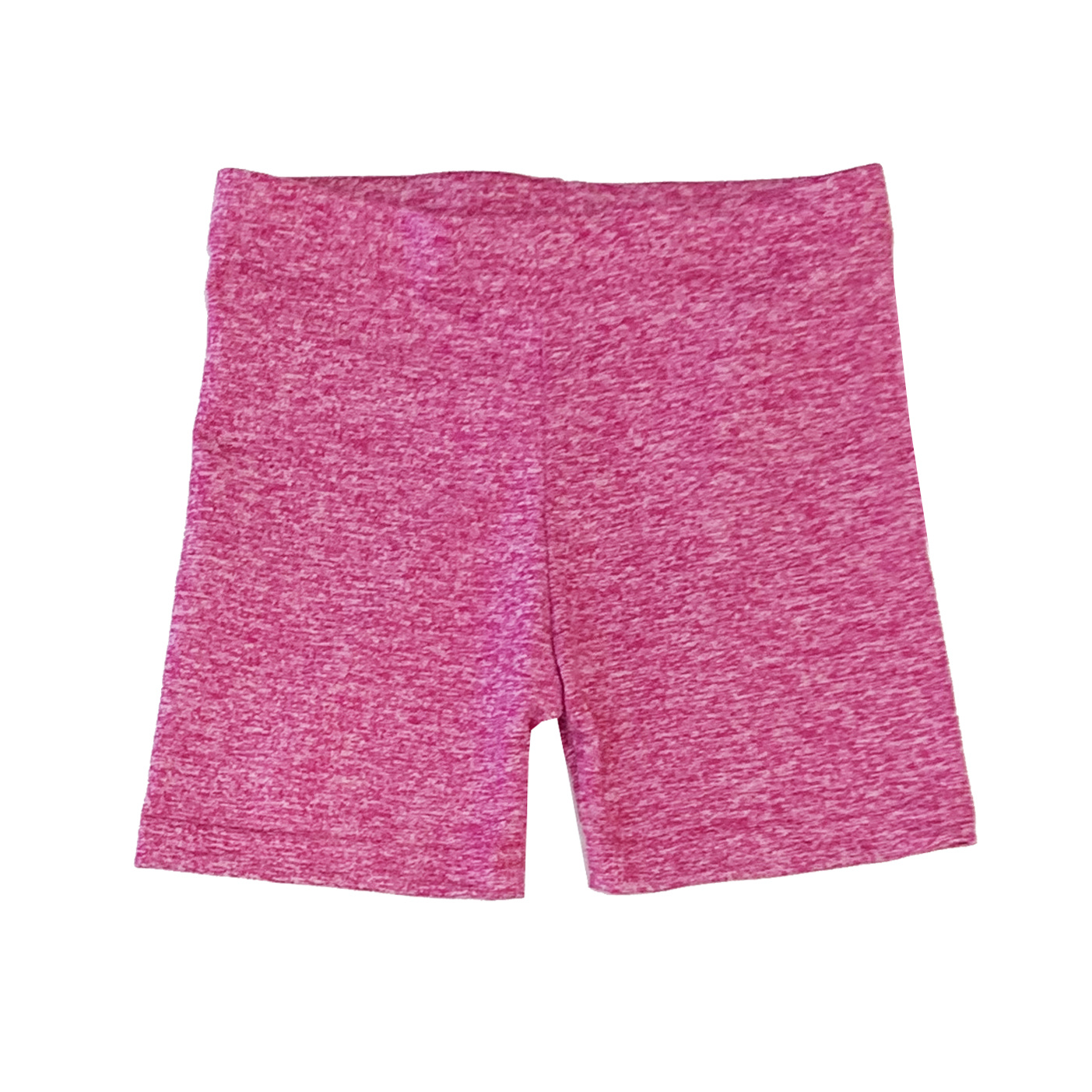 Dori Creations Pink/White Heathered Bike Short