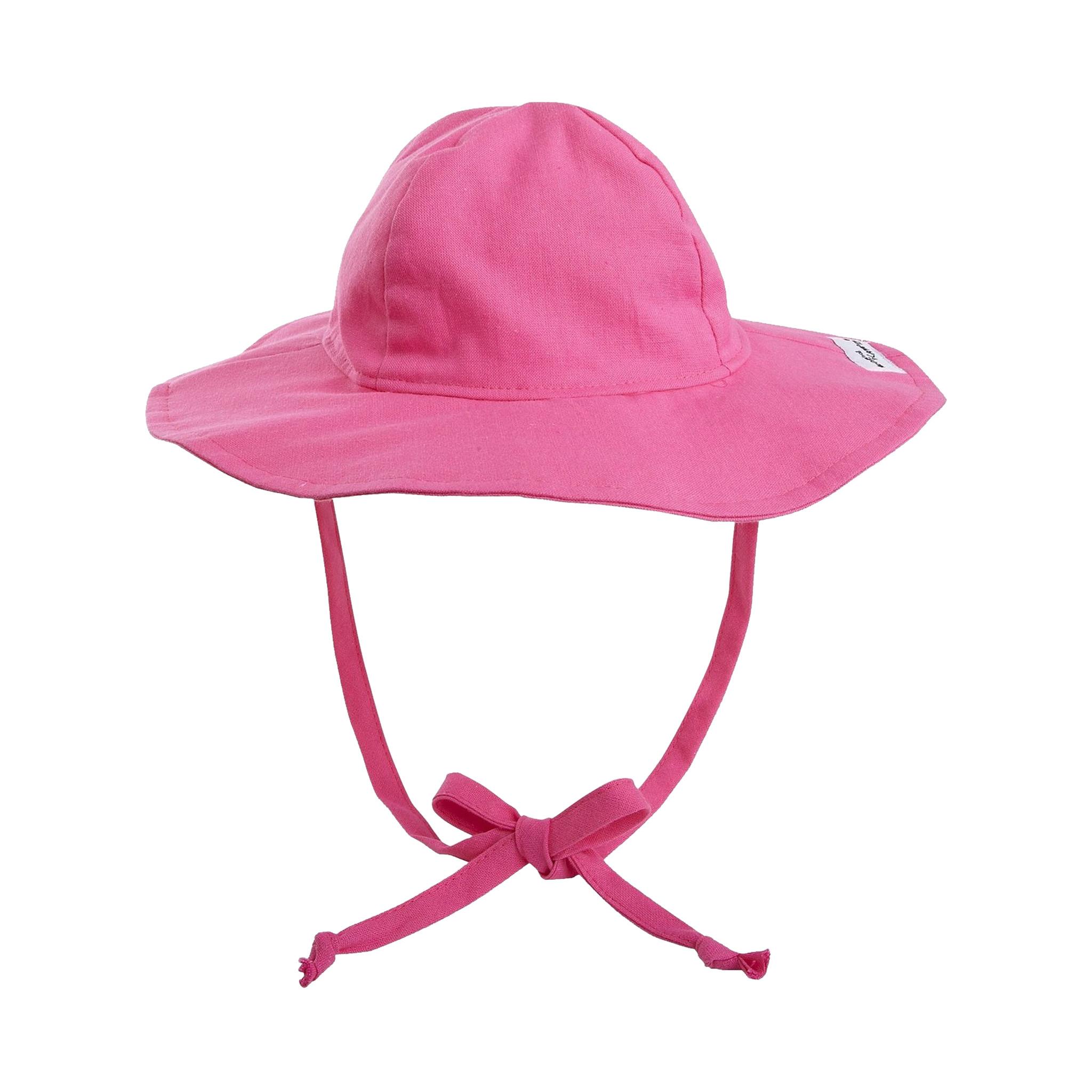 Flap Happy Hot Pink Floppy Hat