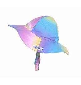 Flap Happy Pastel Tie Dye Floppy Hat