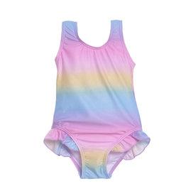 Flap Happy Pastel Tie Dye Swimsuit