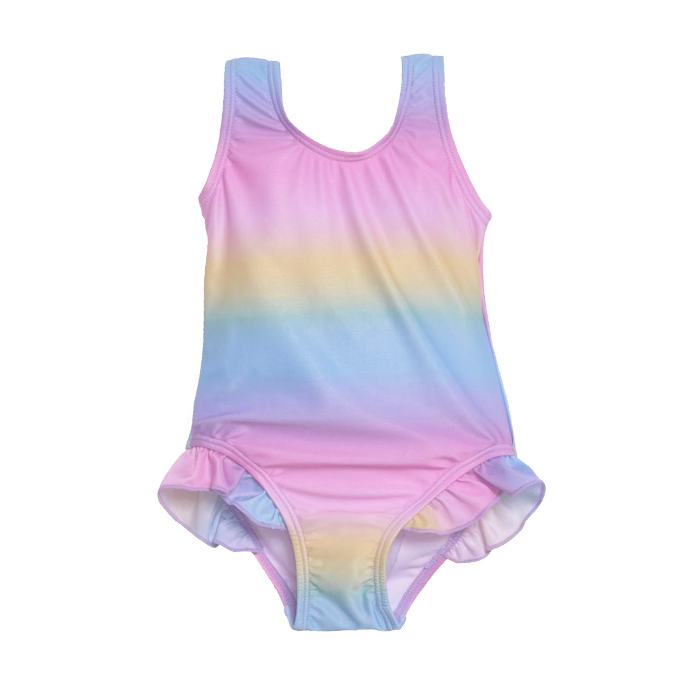 Flap Happy Pastel Tie Dye Swimsuit