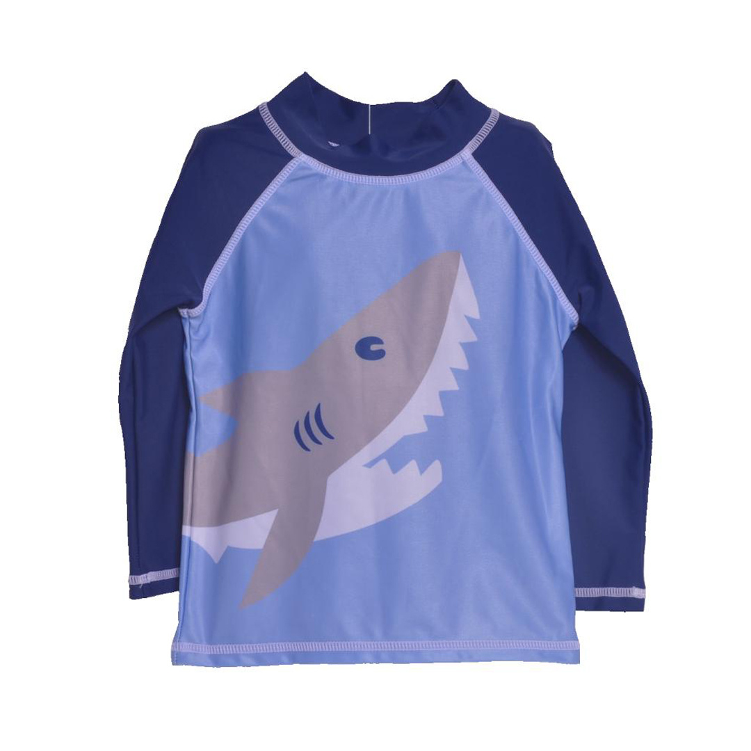 Flap Happy Shark Toddler Rashguard