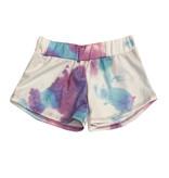 Vintage Havana Purple Tie Dye Sweat Shorts