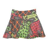 Les Tout Petits Neon Paisley Skirt