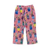 Candy Pink Milkshake Plush Lounge Pants