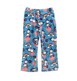 Candy Pink Yogacorn Plush Lounge Pants