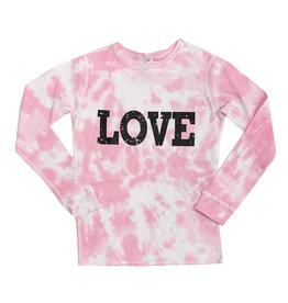 Pink Tie Dye Love Thermal