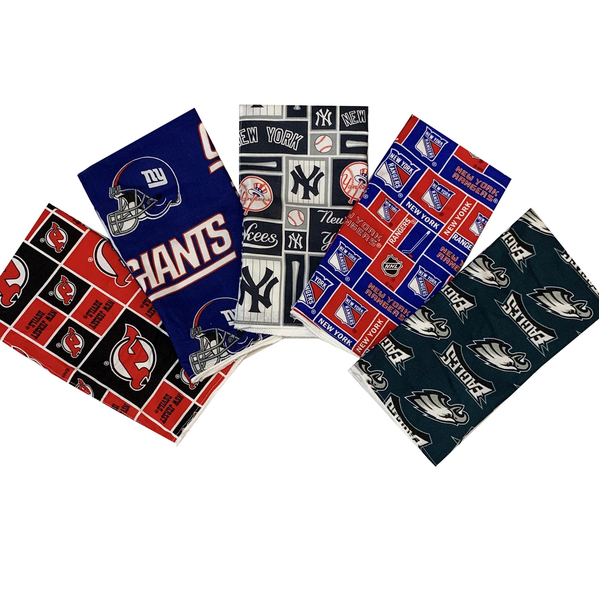 Sports Team Burp Cloths
