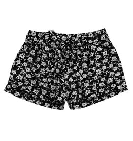 Flowers by Zoe Floral Print Tie Shorts