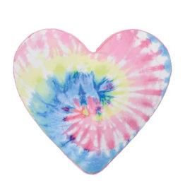 Tie Dye Heart Bubblegum Scented Microbead Pillow