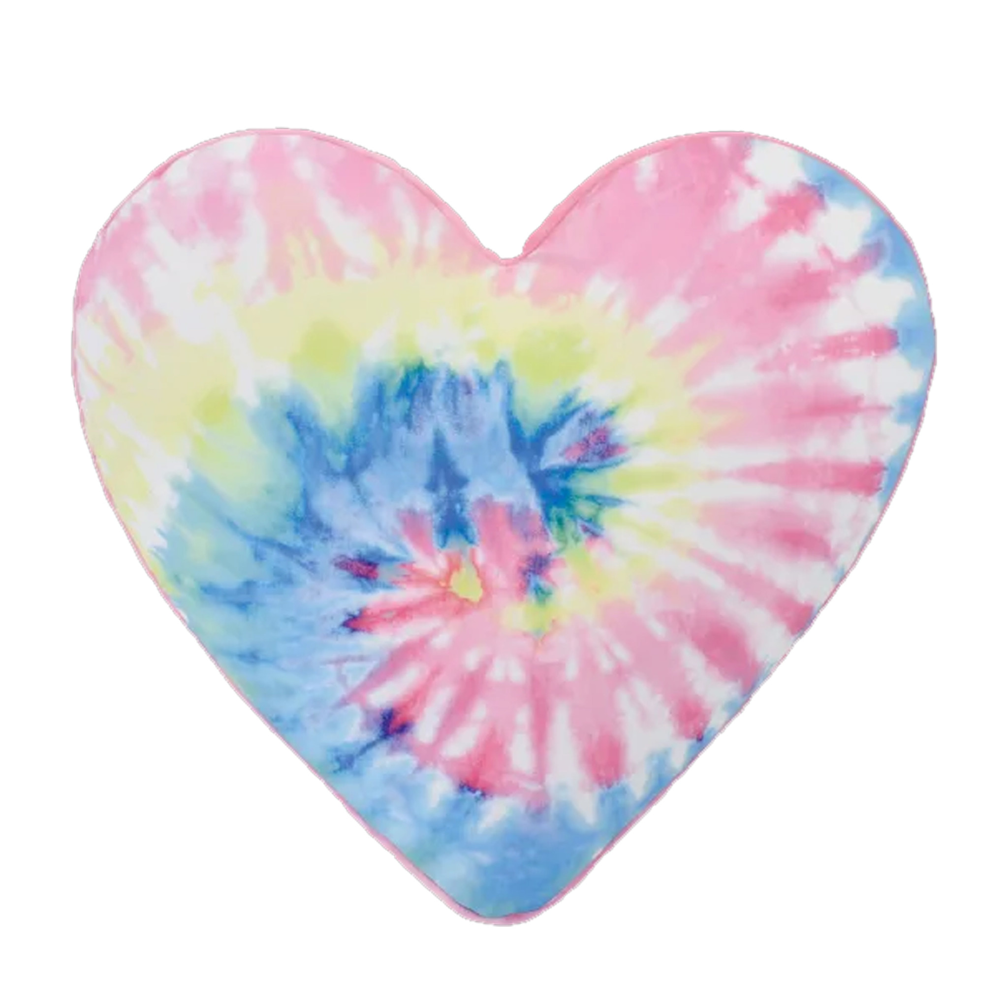 Tie Dye Heart Bubblegum Scented Microbead Pillow