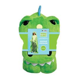 Dinosaur Hooded Plush Blanket