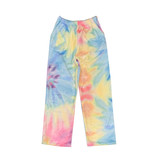 iScream Pastel Tie Dye Plush Lounge Pants